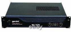 Gemini XGA-3000 3000-Watt Peak Pro Power Amplifier