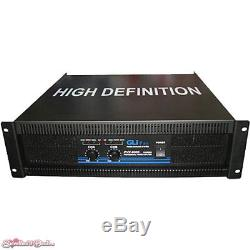 Gli pro PVX-9000 Stereo Power Amplifier (10,000 W Max)