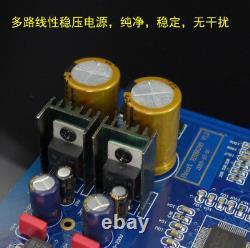 HIFI ES9038PRO DAC I2S and CSR8675 Input diy Player Red Core Raspberry Pi CD