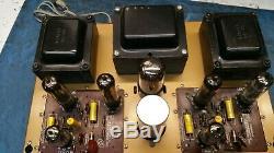Heathkit AA-30 AA30 Vacuum Tube Power Amplifier (Pro Serviced, Recapped) RARE