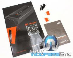 Hertz ML Power 4 Mille Pro High Energy Power 4 Amp 4-channel 1000w Rms Amplifier