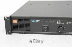 JBL MPA600 Professional Power Amplifier 2-Ch XLR 440WithCH @ 8-OHMS FREE SHIPPING