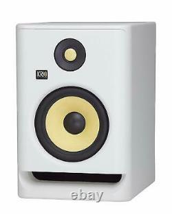 KRK RP7 Rokit 7 G4 Professional Bi-Amp 7- Powered Studio Monitor White Noise