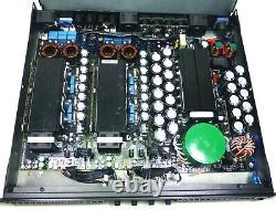 LASE-6000 Series Professional Power Amplifier 1U 4 x 1800 RMS Watts 8 Class D