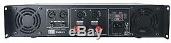 MUSYSIC 2 Channel 3200 watts Professional Power Amplifier 2U Rack mount SYS-3200