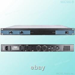 MiCWL 3600 Watt Peak 2 Channel Digital Power Amplifier Pro DJ Amp Speaker 1U 19