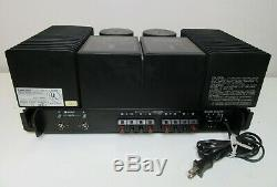 Mitsubishi Stereo Power Amplifier Da-a10dc Works Perfect Pro Serviced Recapped
