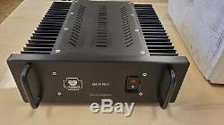 Monarchy Audio SM70 Pro Class A stereo amplifiers. Balanced inputs