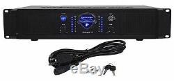 New Technical Pro LZ3200 3200 Watt 2-Channel Amplifier 2U Rack DJ Power Amp