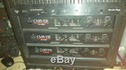 One Carver pro PXM250 pro audio amplifier for sale