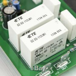 One Pair PR-800 Class A /AB Professional power amplifier board with heatsink