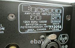 PAIR of BRYSTON 7BST 7B-ST Pro Mono Power Amplifier