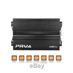 PRV Audio A4MH PRO. 4 CHANNEL CLASS A/B 650 Watts Power Amplifier FREE GIFT LOOK