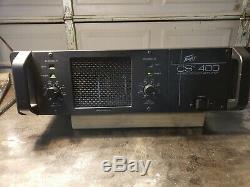 Peavey CS-400 2 Channel Stereo 400W Pro Power Amplifier Rackmount 3U AMP 0416
