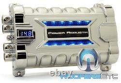 Power Acoustik Pcx-30f Pro Cap 30.0 Farad Digital Hybrid Amplifier Capacitor New