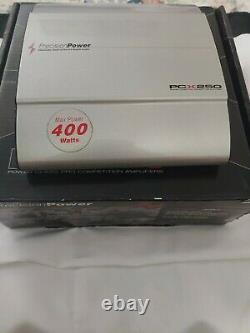 Precision Power PCX250 Power Class Pro Competition Amplifier max power 400 watt