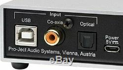 Pro-Ject Pre Box S2 Digital Silver Digital Micro Preamplifier