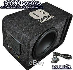 Pro Plus Extreme Power 1800W 12 Amplified Active Subwoofer Sub Amp bass