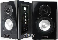 Professional 400W 5 Active/Powered Studio Monitor Speakers Bluetooth/USB/SD/FM