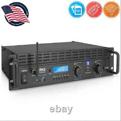 Pyle 1000w 2 Channel Bluetooth Pro Professional Home Office Power Amp Amplifier