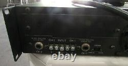 QSC 1500A PROFESSIONAL STEREO POWER AMPLIFIER For Parts / Repair