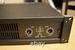 QSC CX902 2 Channel Power Amplifier 900 Watts per @ 4 ohms Pro Audio XLR Inputs