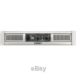 QSC GX3 Professional Power Amplifier 2 Channels 300WithCh at 8Ohm 425WithCh at 4Ohm