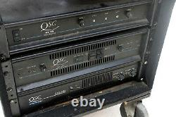 QSC MX 2000 Pro Stereo 2 Channel 650w Dual Power Amplifier
