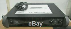 QSC PLX-3402 PLX3402 Pro Power Amplifier Box & Manual