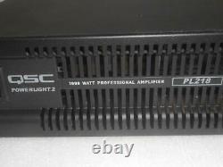 QSC Powerlight 2 PL218 2-Channel 1800 WATT Professional Amplifier