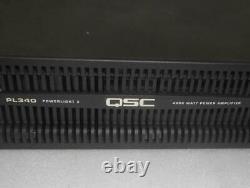 QSC Powerlight 3 PL340 4000 WATT Professional Amplifier