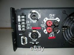 QSC Powerlight PL3.4 Professional Power Amplifier-725 watts/chan. Free Shipping