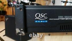 QSC RMX 1850HD Professional Power Amplifier