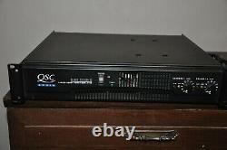 QSC RMX 1850HD Professional Stereo Power Amplifier 550 watts per channel amp