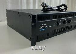 QSC RMX 4050HD Dual Monaural Supply Professional Power Amplifier