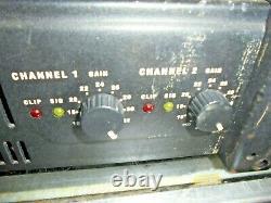 Qsc Audio Professional Power Amplifier Model Rmx2450