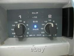 Qsc Plx-3102 Professional Stereo Amplifier 3100w Project As Is Plx3102