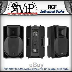 RCF ART712-A MK4 Active 2Way Professional 12 Powered PA Speaker 1400W Amplified