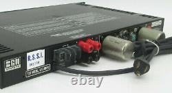 Rack Mount BGW 150 Broadcast Professional Power Amplifier 50W /CH @ 8-OHMS