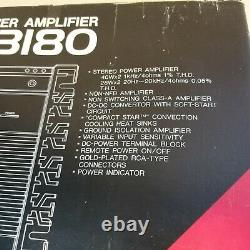Rare DENON DCA-3180 2/1 channel Power amplifier Class ab Pro Audio amp nib
