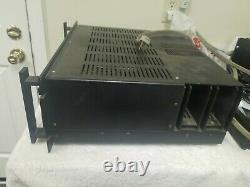 Rare Vintage SAE 2500 MK 25 Professional Solid State Stereo Power Amplifier Amp