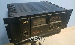 Rare Vintage Yamaha P2200 Power Amplifier Professional Amp (Great for NS-10)