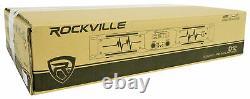 Rockville D12 5000w Peak/1400w RMS Power Amplifier 2 Channel Class D Pro/DJ Amp