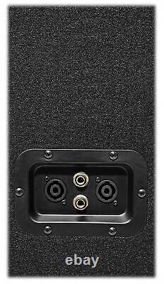 Rockville PBG18 18 2000 Watt 8 Ohm Pro DJ PA Subwoofer Sub+Power Amplifier Amp
