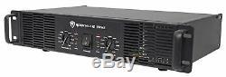 Rockville RPA5 1000 Watt Peak / 500w RMS 2 Channel Power Amplifier Pro/DJ Amp