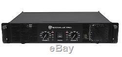Rockville RPA9 3000 Watt Peak / 1500w RMS 2 Channel Power Amplifier Pro/DJ Amp