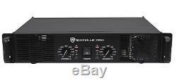 Rockville RPA9 3000 Watt Peak / 800w RMS 2 Channel Power Amplifier Pro/DJ Amp