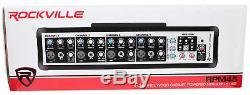 Rockville RPM45 2400w Powered 4-Channel Mixer Pro Mixing Amplifier, FX, Phantom