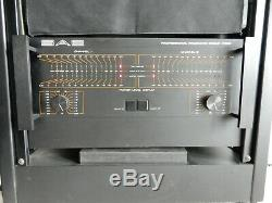Sae Professional Products Group P500 Power Amplifier-500 Watts/channel-euc