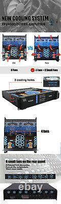Sinbosen fp20000q 4 Ch Pro Power Amplifier 4000 watts RMS per channel. 110 volt